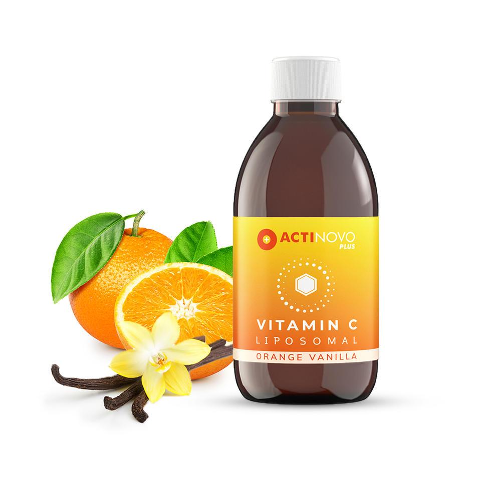 脂质体维生素C/香草橙味