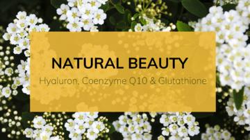 天然抗衰老的秘密:玻尿酸、辅酶Q10和谷胱甘肽