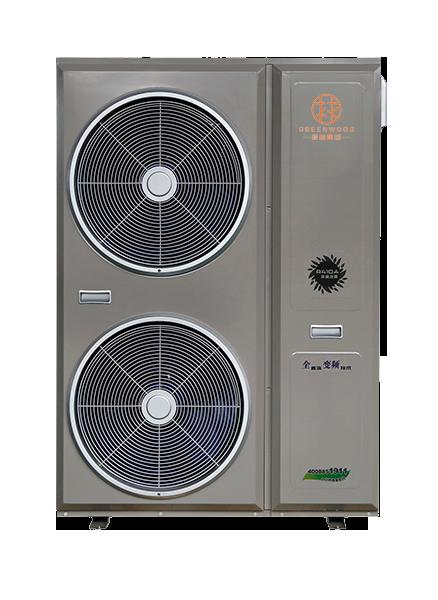 清洁供暖制冷空气源热泵