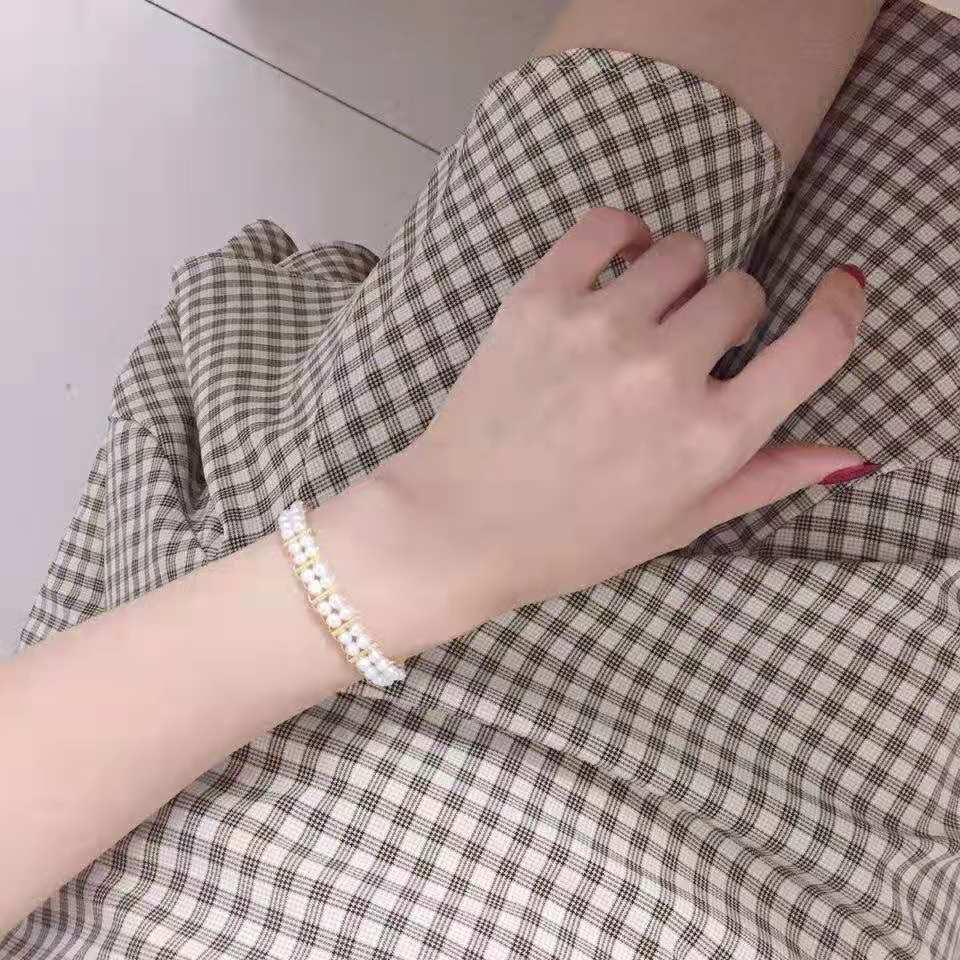 编织风双排手链