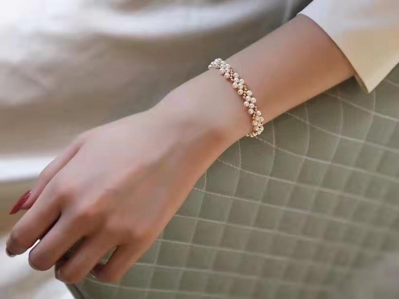 法式复古手链