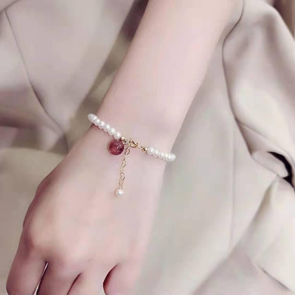 草莓晶手链