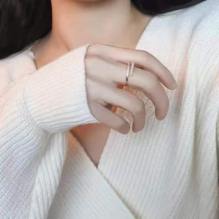 日系轻奢戒指