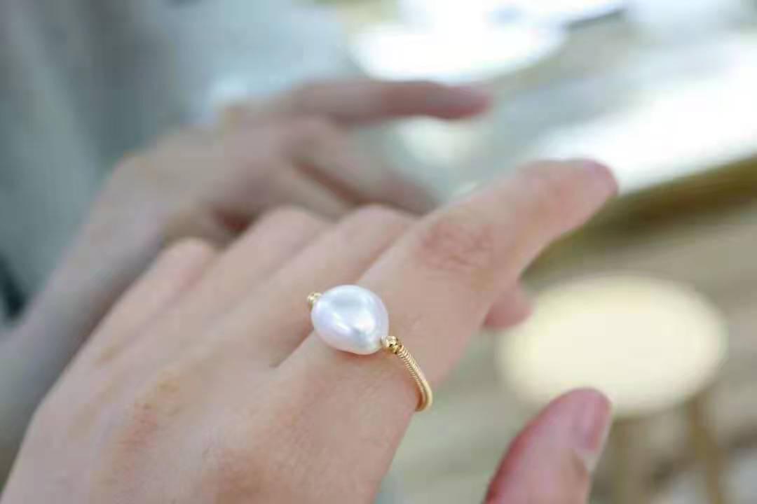 司藤同款巴洛克戒指