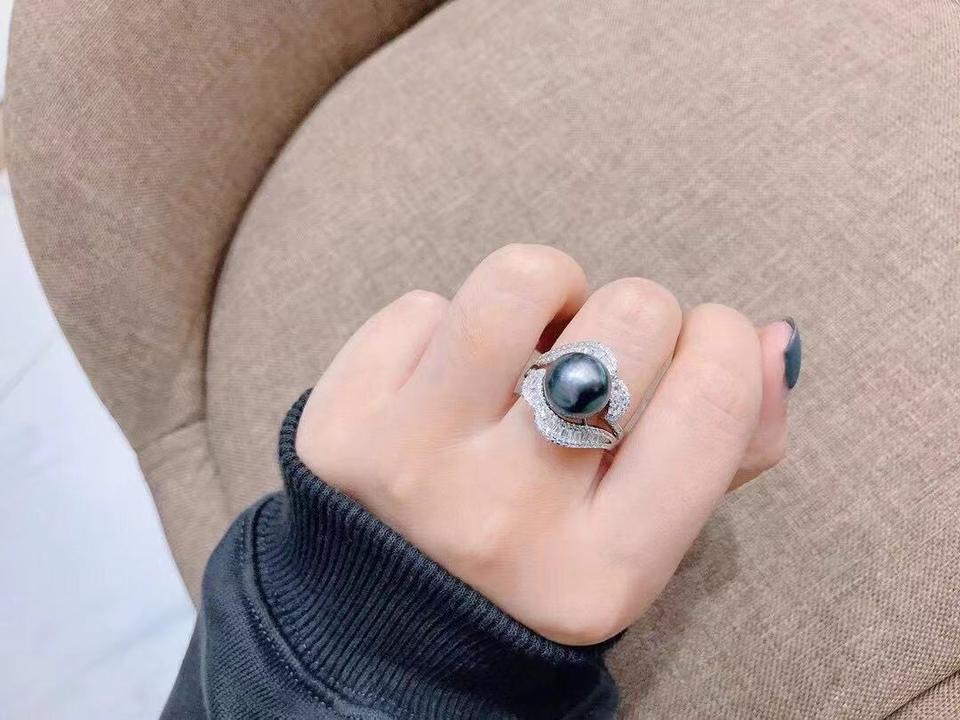 10-11mm大溪地黑珍珠