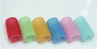 Plastic hair roller