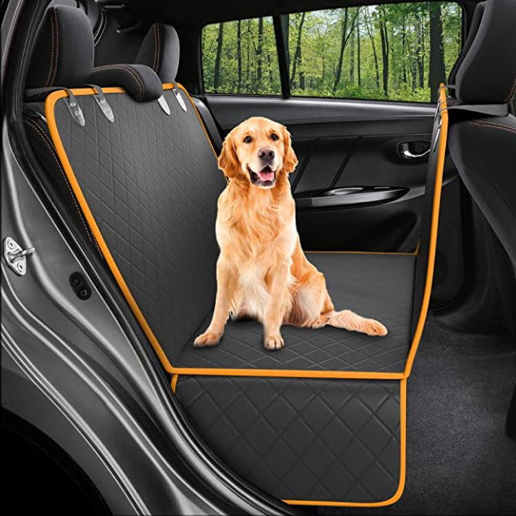 2021 Amazon Hot Wholesale Luxury Waterproof Car Seat Cover For Pet Dog Back Seat Cover