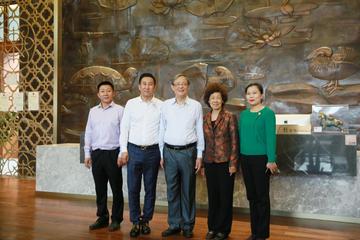 2018年3月1日博鳌亚洲论坛秘书长周文重视察博鳌一龄生命养护中心