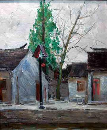上海油画雕塑院·富大画廊精品亮相展会