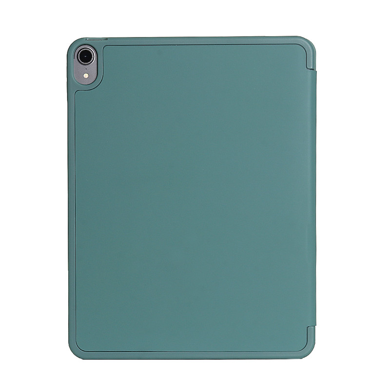 Three fold case for iPad with pencil slot