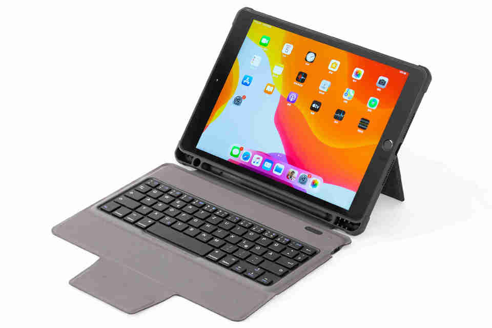 for iPad Bluetooth Wireless Keyboard Case no touchpad (no Backlit)