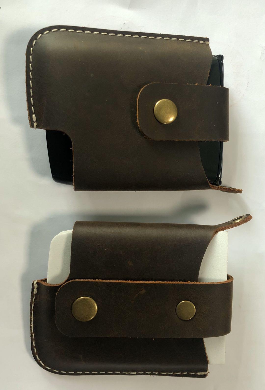 Genuine Cow Leather Case for Motorola Razr 2019