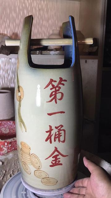 湖南长沙铜官窑陶瓷花瓶定制 湘古窑品牌管理有相似不错的选择