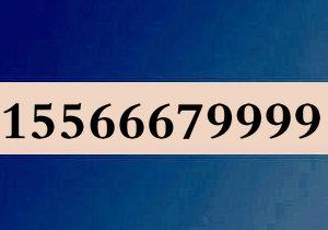 15566679999大连移动4连号尊贵靓号