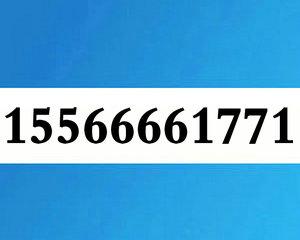 15566661771大连联通经典号段1556666
