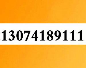 13074189111大连联通3连AAA