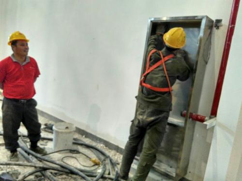 室内消火栓安装工程