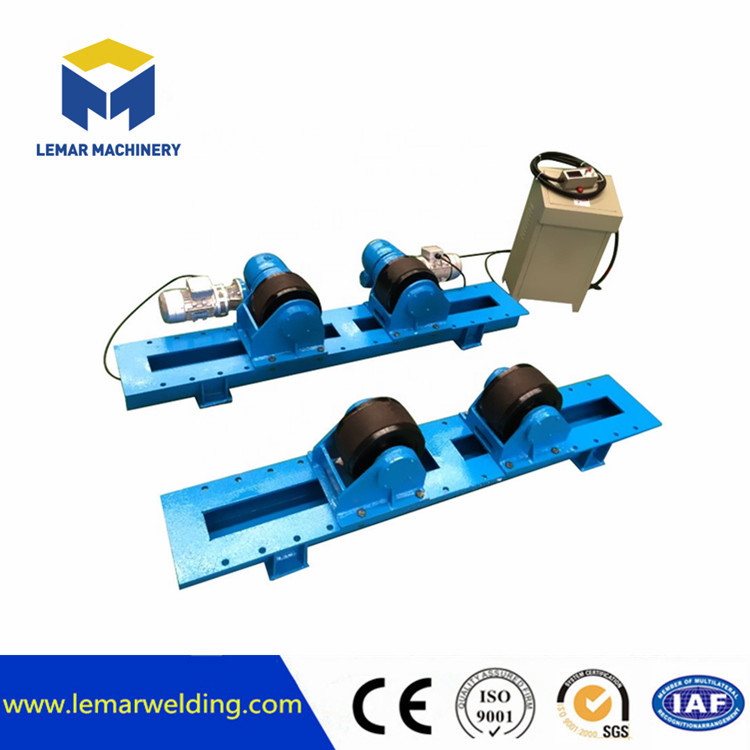 Pipe tube welding rotator
