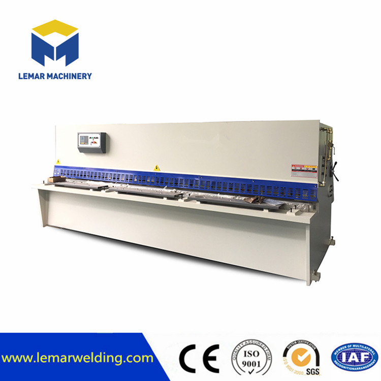 Hydraulic metal plate beam CNC shearing machine
