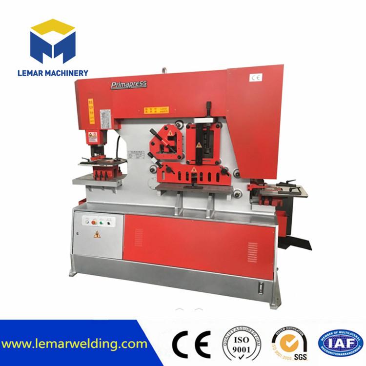 Q35y Hydraulic Ironworker Punch and Shear machine