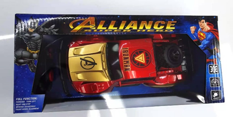 ALLIANCE 1:24 Iron Man rechargeable remote control car