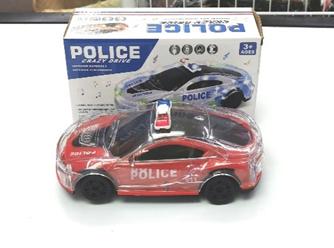 POLICE CRAZY DRIVE electric police car