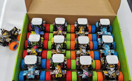 4X4 POWER TRUCK STUNT CAT12 loading trolley