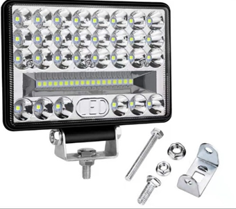108W large field of view car light