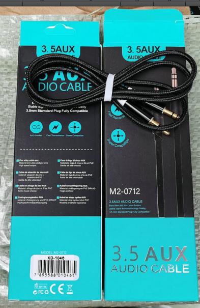 XD-1046 Bra audio line OD4.0