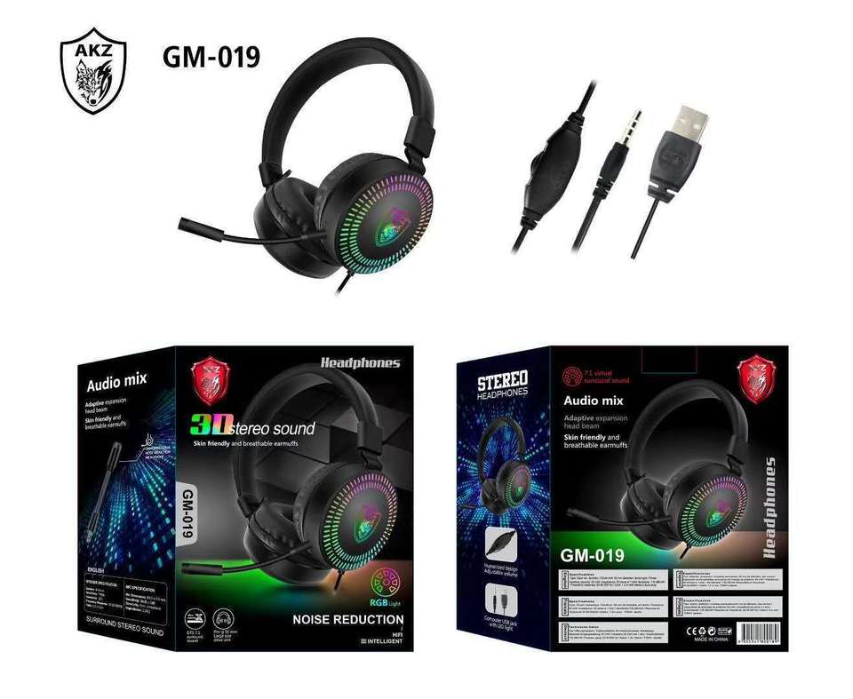 XD-1051 GM-019 Game Headset(Can use 3.5mm in phone)