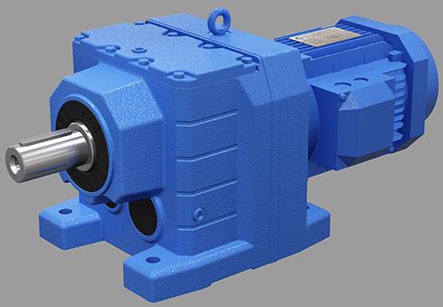 R系列硬面斜齿轮减速机<br/>大功率减速机技术参数<br/><br/><br/><br/>速比范围:R基本型3.33~289.74,RX型1.3~8.65,R/R组合型可到27001<br/><br/>扭矩范围:R基本型85~18000 Nm,RX型20~1680 Nm<br/><br/>功率范围:R基本型0.18~160 kW,RX型0.18~132 kW<br/><br/>产品特点:<br/><br/>1、我公司本系列减速机结合世界技术要求制作,具有很高的科技含量;<br/><br/>2、硬齿面减速机空间利用率高,牢靠经用,承受过载能力强,大功率可达132KW;<br/><br/>3、能耗低,速机功率95%;<br/><br/>4、振动更小,噪音更低,更节能;<br/><br/>5、R系列斜齿轮硬齿面减速机选用锻钢材料,钢性铸铁箱体,齿轮表面经过高频热处理;<br/><br/>6、经过加工,轴平行度和定位轴承要求,构成斜齿轮传动总成的减速机装备了各种类电机,组合成机电一体化,减速电机产品运用质量特性。<br/><br/>性能特色:<br/><br/>1、小偏置输出,结构紧凑,使用箱体空间,二级、三级在同一箱体内。<br/><br/>2、采用整体式铸造箱体,箱体结构刚度好,易于进步轴的强度和轴承寿数。<br/><br/>3、装置方式:底脚装置、法兰装置有大小法兰,易于选择。<br/><br/>4、实心轴输出,均匀功率是二级96%、三级94%、R/R 组合均匀功率85%。<br/><br/>5、专为拌和规划的RM系列能承载较大的轴向力、径向力。<br/><br/><br/><br/><br/>R系列斜齿轮硬齿面减速机型号:<br/><br/>R17、R27、R37、R47、R57、R67、R77、R87、R97、R107、R137、R147、R167<br/><br/>RF17、RF27、RF37、RF47、RF57、RF67、RF77、RF87、RF97、RF107、RF137、RF147、RF167<br/><br/>RX37、RX57、RX67、RX77、RX87、RX97、RX107、RX127、RX157<br/><br/>RXF37、RXF57、RXF67、RXF77、RXF87、RXF97、RXF107、RXF127、RXF157<br/><br/>RS27、RS37、RS47、RS57、RS67、RS77、RS87、RS97、RS107、RS137、RS147、RS167<br/><br/>R27R17、R37R17、R47R37、R57R37、R67R37、R77R37、R87R57、R97R57、R107R77、R137R77、R147R77、R147R87、R167R97、R167R107<br/><br/>RFS27、RFS37、RFS47、RFS57、RFS67、RFS77、RFS87、RFS97、RFS107、RFS137、RFS147、RFS167<br/><br/>RF27R17、RF37R17、RF47R37、RF57R37、RF67R37、RF77R37、RF87R57、RF97R57、RF107R77、RF137R77、RF147R77、RF147R87、RF167R97、RF167R107<br/><br/>RXS37、RXS57、RXS67、RXS77、RXS87、RXS97、RXS107、RXS127、RXS157<br/><br/>RXFS37、RXFS57、RXFS67、RXFS77、RXFS87、RXFS97、RXFS107、RXFS127、RXFS157
