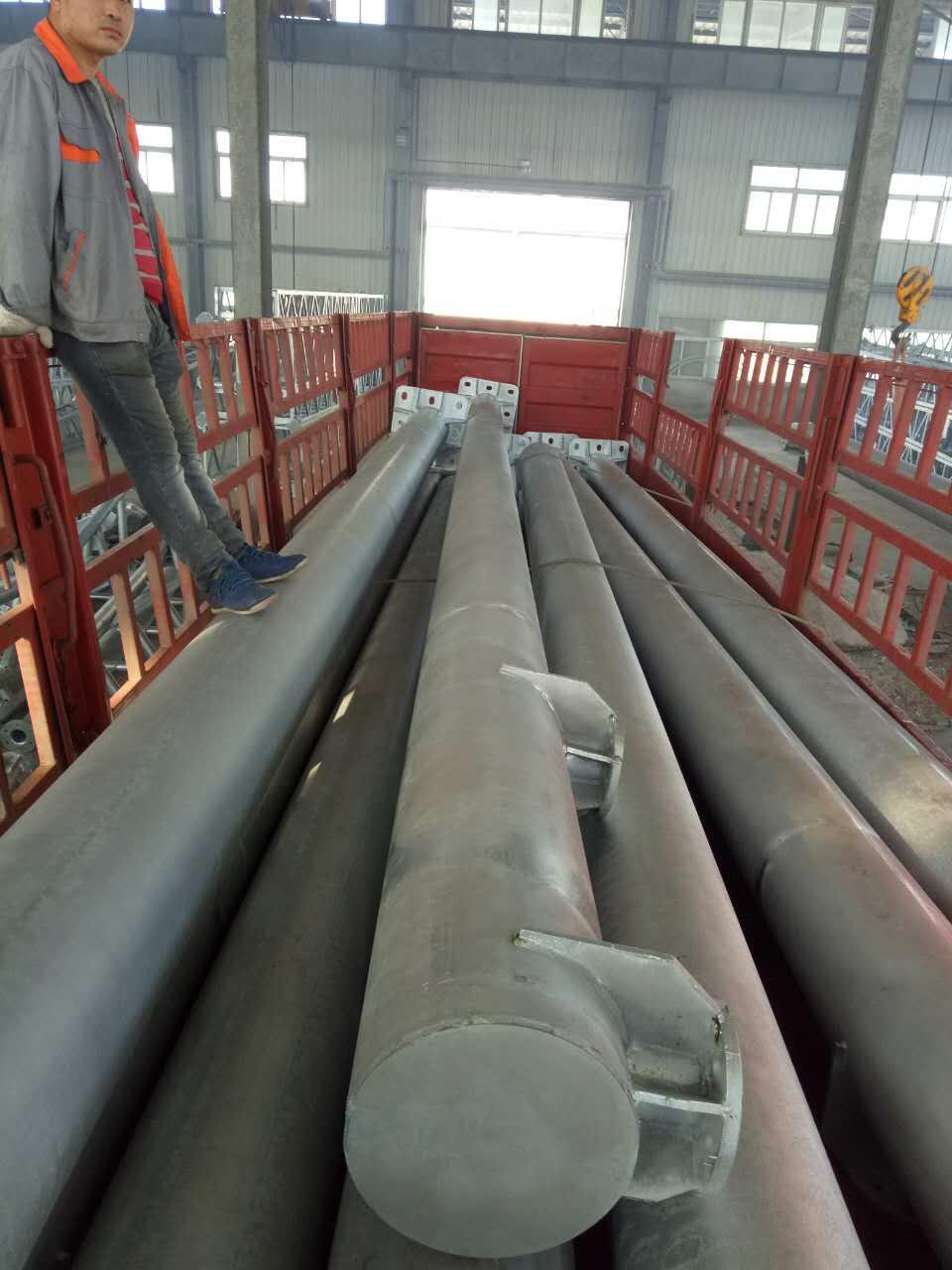 钢管硬横跨支柱