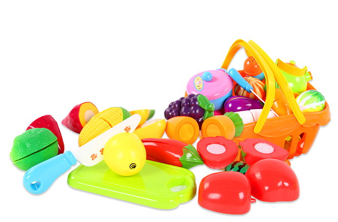 Color-cut-fruit-toys
