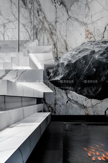沉浸式体验|顺辉岩板▸构筑美术馆式岩板艺术展厅