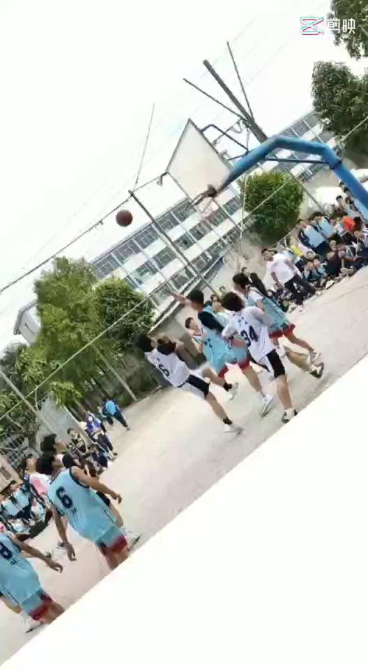 广州市花都区华晨学校——初中篮球比赛